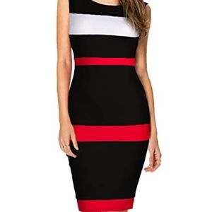 Dresses & Skirts - NWOT Color block WORK DRESS
